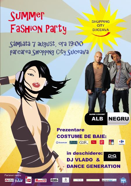 Summer Fashion Party la Shopping City Suceava