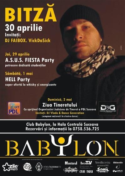 DJ Vlado & Dance Generation în Club BABYLON Suceava