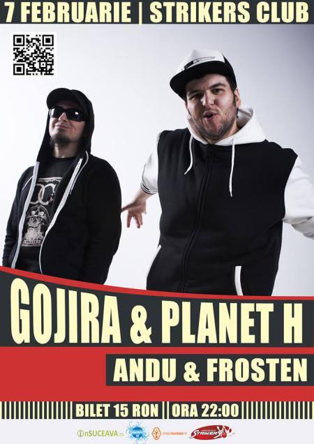 Gojira & Planet H @ Suceava