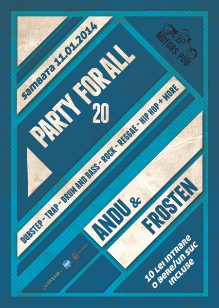 Party for all 20 @ 31 Motors Pub