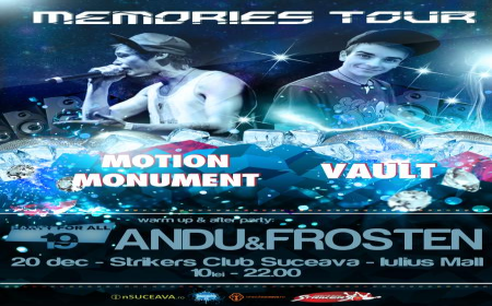 FOTOGRAFII: Motion Monument, Vault, Andu & Frosten @ Strikers Club