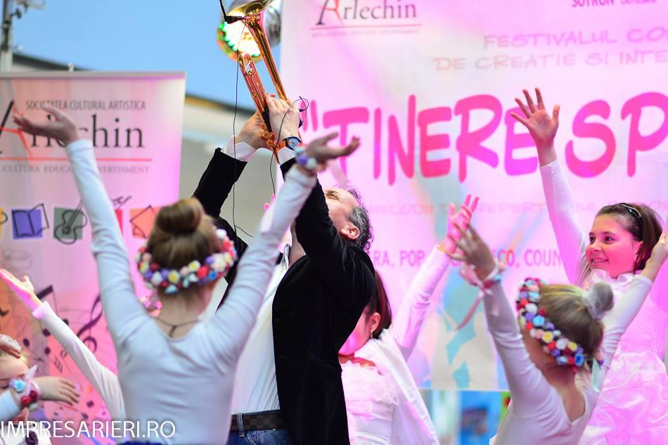 """Festivalului Naţional de Interpretare şi Creaţie pentru Copii şi Tineret """"TINERE SPERANŢE"""" (Botoşani, ediţia a XXII-a, 4-14 iunie 2015)"""